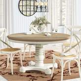 Fleeton Drop Leaf Solid Wood Dining Table August Grove