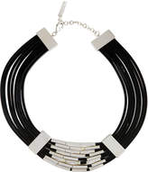 Lafayette 148 New York Multi-Strand Leather Choker Necklace