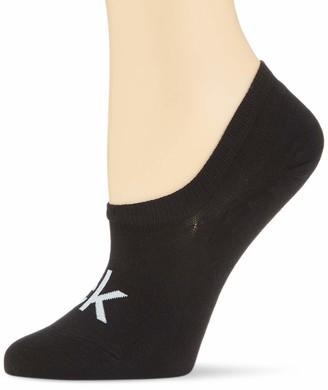 Calvin Klein Women's Liner 1p Modern Logo Kristal Socks