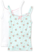 Rene Rofe Toddler Girls) Two-Pack Pointelle Knit Camisoles