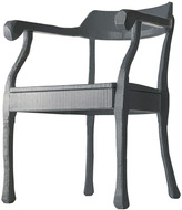 Muuto Raw Lounge Chair - Dark Grey