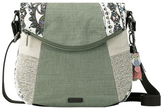 The Sak 106495 Artist Circle Flap Over Crossbody Bag