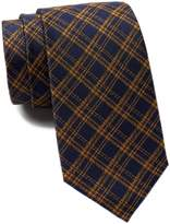 Ben Sherman Warner Plaid Silk Tie