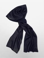 Calvin Klein Speckled Foil Scarf