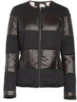 St. John Women's Reversible Dot Print Matte & Shiny Jacket