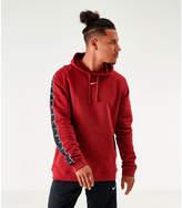 Men's Swoosh Sportswear Tape Fleece Hoodie f76bgy