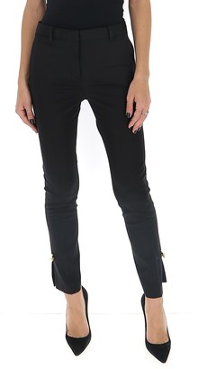 Versace Safety Pin Embellished Trousers