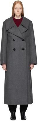 Lemaire Grey Long Coat