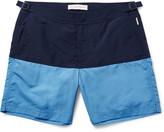 Orlebar Brown - Bulldog Mid-length Two-tone Swim Shorts