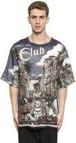 Dolce & Gabbana Palermo Jazz Printed Linen T-Shirt