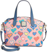 Dooney & Bourke Hearts Ruby Mini Satchel