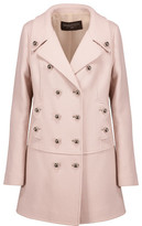 Giambattista Valli Double-Breasted Wool-Blend Coat