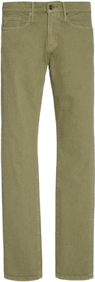 Frame L'Homme Stretch Low-Rise Slim-Leg Jeans