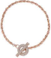 INC International Concepts Crystal Toggle Chain Necklace, Only at Macy's