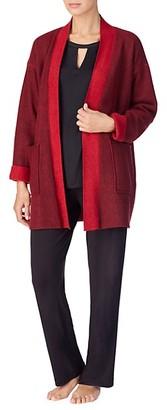 Donna Karan Open-Front Bed Jacket