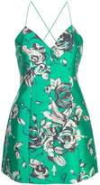 Alice + Olivia Alice+Olivia floral sweetheart dress