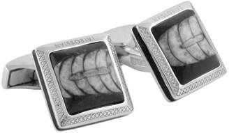 Tateossian Orthoceras Fossil Cufflinks