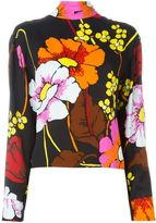 Marni floral print top - women - Viscose - 42