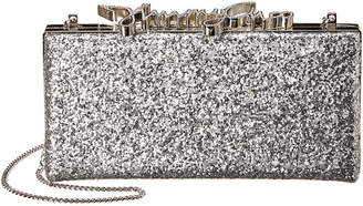 Jimmy Choo Celeste Coarse Glitter Clutch