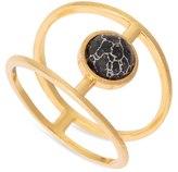Oliver Bonas Enyo Structured Howlite Ring