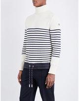 Moncler Drawstring-hem Wool Jumper