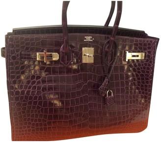 Hermes Birkin 35 Other Crocodile Handbags