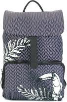 Zanellato tucan print backpack