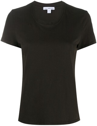 James Perse short-sleeve fitted T-shirt