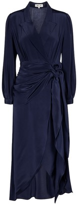 Diane von Furstenberg Stella silk wrap dress