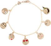Alison Lou 14-karat Gold Enamel Bracelet - one size