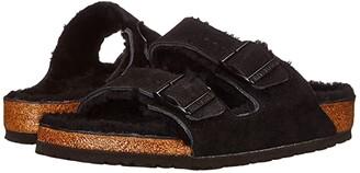 Birkenstock Arizona Shearling (Shearling Night/Night Suede/Shearling) Shoes