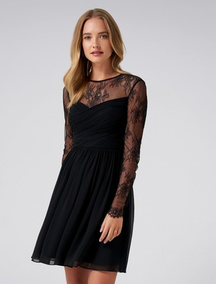 Forever New Lilly Lace Soft Prom - Black - 4