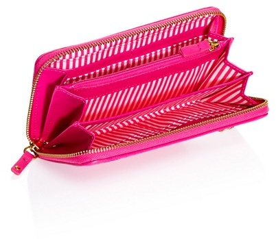 Juicy Couture Velour Zip Wallet- Travel Charms