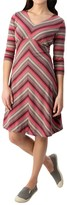 Royal Robbins Essential TENCEL® Stripe Dress - Long Sleeve (For Women)