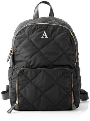 Cathy's Concepts Cathy Concepts Personalized Quilted Nylon Backpack