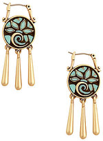 Lucky Brand Mosaic Turquoise Drop Earrings