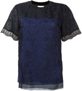 3.1 Phillip Lim lace top - women - Silk/Nylon/Polyamide/Viscose - 2