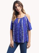 Ella Moss Inka Cold Shoulder Top
