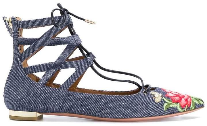 Aquazzura Belgravia ballerina shoes