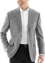 JCPenney Stafford Executive Hopsack Blazer - Portly