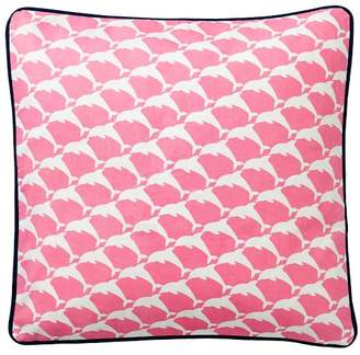 Pottery Barn Teen Cape Cod Pillow Cover, 16x16, Bright Pink