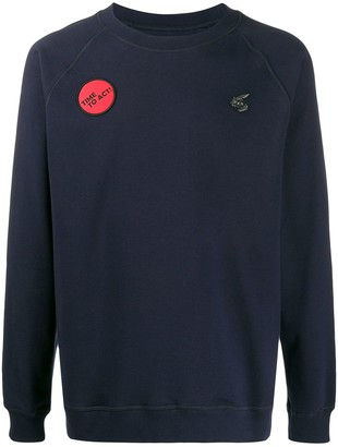Vivienne Westwood 'Time to Act' crew neck sweatshirt