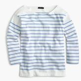 J.Crew Placed stripe boatneck T-shirt