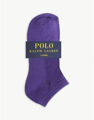 Polo Ralph Lauren Cotton-blend socks pack of six