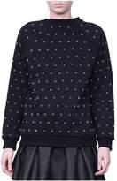 Giamba Studded Cotton Sweatshirt