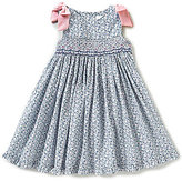 Edgehill Collection Little Girls 2T-4T Ditsy Floral Dress