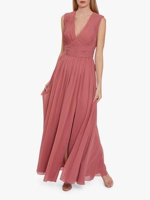 Gina Bacconi Saina Chiffon Maxi Dress