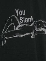 Yohji Yamamoto Slank T-shirt