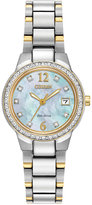 Citizen Women's Eco-Drive Silhouette Two-Tone Stainless Steel Bracelet Watch 26mm EW1994-57D - A Macy's Exclusive