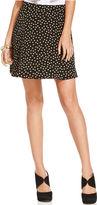 Monroe Marilyn Juniors Skirt, Polka-Dot-Print